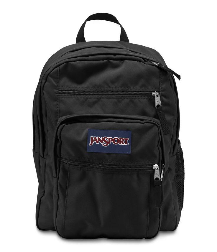 Jansport Big Student Backpack - Black