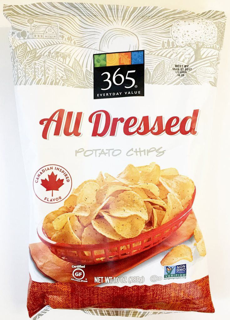 Whole Foods 365 All Dressed Potato Chips Whole foods 365