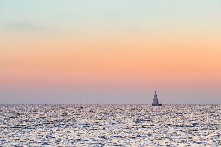 a lonely sail by Anastasia Krylova on 500px