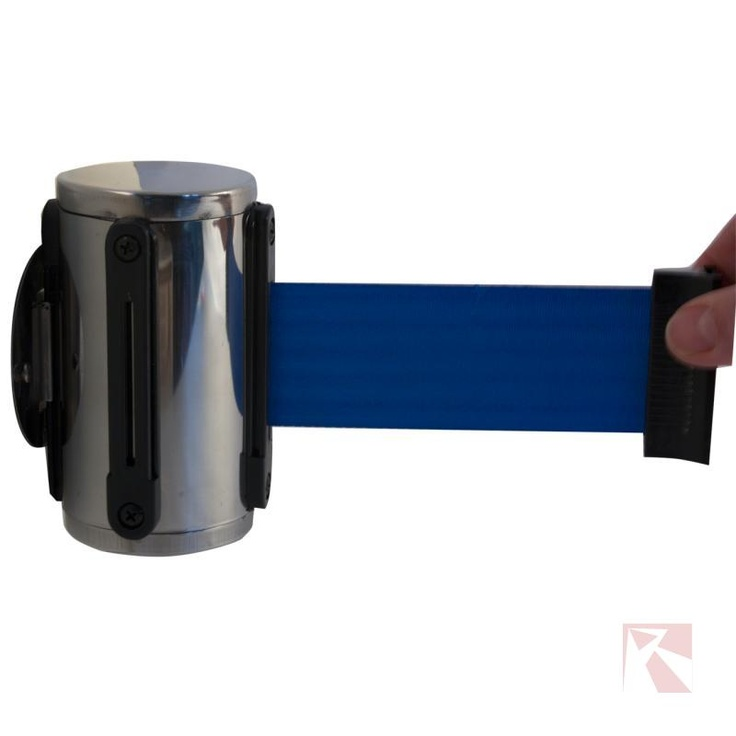 Blauwe stopper