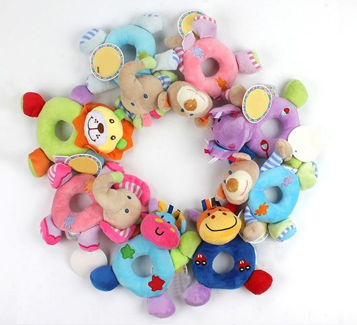 Plush Baby Rattle //Price: $8.95 & FREE Shipping //     #perfect #interesting
