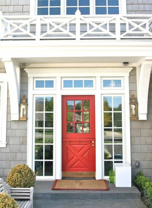 A Bright Splash Of Color On Your Home 39 S Front Door Is A