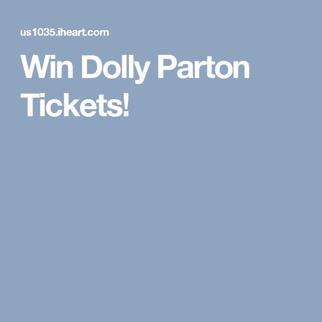 Win Dolly Parton Tickets!