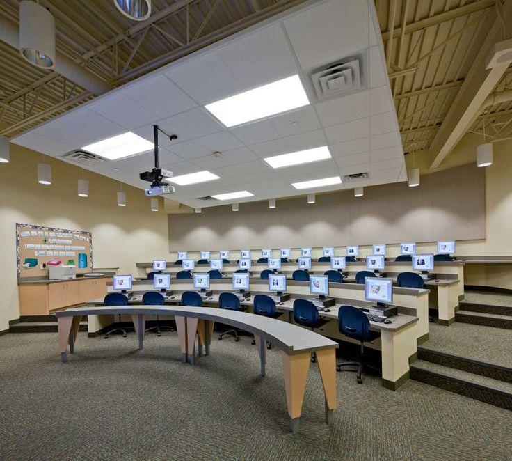 Computer lab   AMDG Architects, Grand Rapids, MI