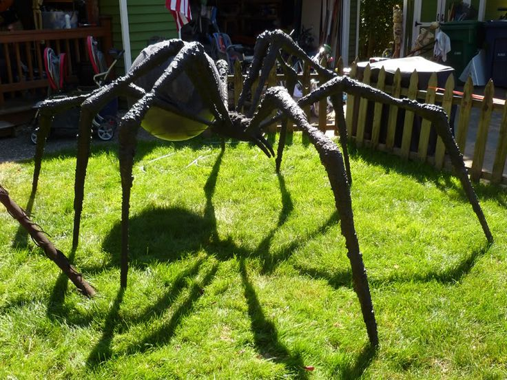 prop showcase giant spider build from tk421 page 13 - Giant Halloween Spider