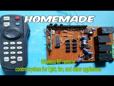This video shows how to make a RF remote control device at home, on your own. the circuit diagram in JPG format, you can download from my facebook page …