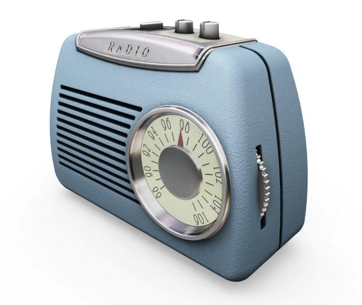 En äldre fin radio.   A nice older radio.        רדיו ישן יפה :-)