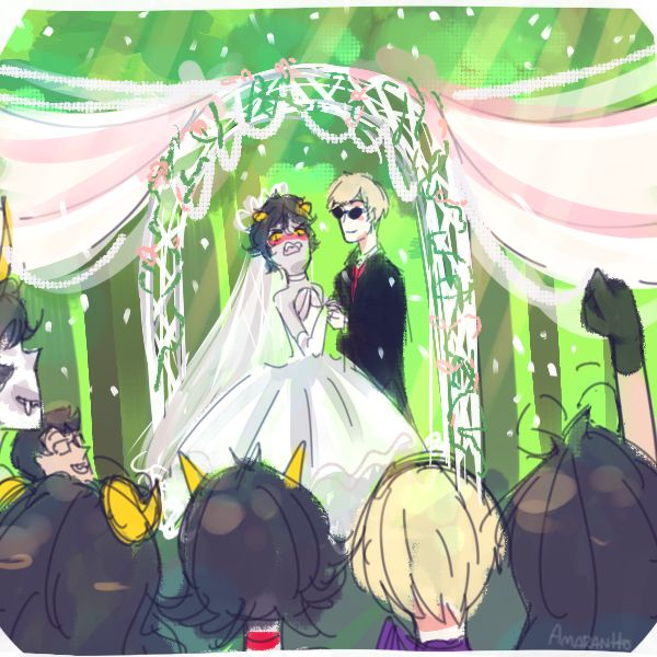 Homestuck wedding