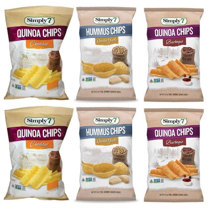 Simply 7 Quinoa Chips Just $0.48 At Walmart! http://feeds.feedblitz.com/~/311632638/0/groceryshopforfreeatthemart~Simply-Quinoa-Chips-Just-At-Walmart/