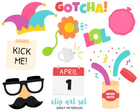 April Fools Clip Art, Practical Joke Clipart, Prank Clip ...
