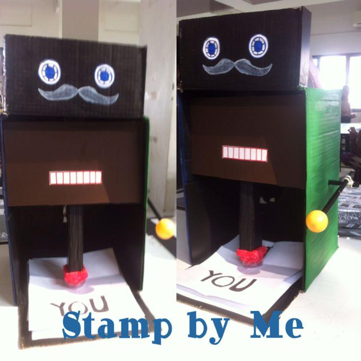 Amalia Nurul Rizky-Annisa Putri Lestari- Yuniawati-First Machine: Stamp by Me. Mesin Stemple.