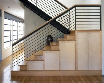 Louie, Modern Staircase, San Francisco