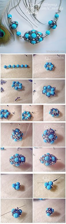 Bead Pendant-Brooch...♥ Deniz ♥