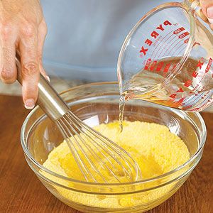 Polenta from scratch 101. This has recipes for polenta several different ways.
