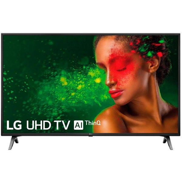 Televisor Lg 43um7100plb Con Panel Lcd Retroiluminado Por Led Con