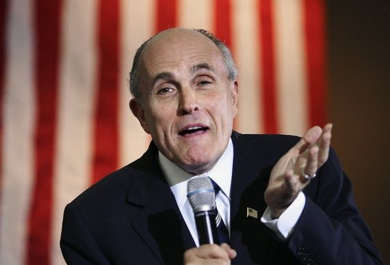"""The Gospel of Rudy Giuliani --- """"For nearly 15 years, our politicians have told us that murder perpetrated by Islamic terrorists represented an existential threat to the country... The time has now come for some tough talk: The American people have one of the highest murder rates in the industrialized world. Almost all of these people are killed by other Americans...Americans perpetrate roughly five 9/11s against other Americans every year...  - The Atlantic"""