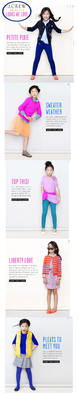 J.Crew CrewCuts Fall 2012 Looks We Love Kids Fashion Style