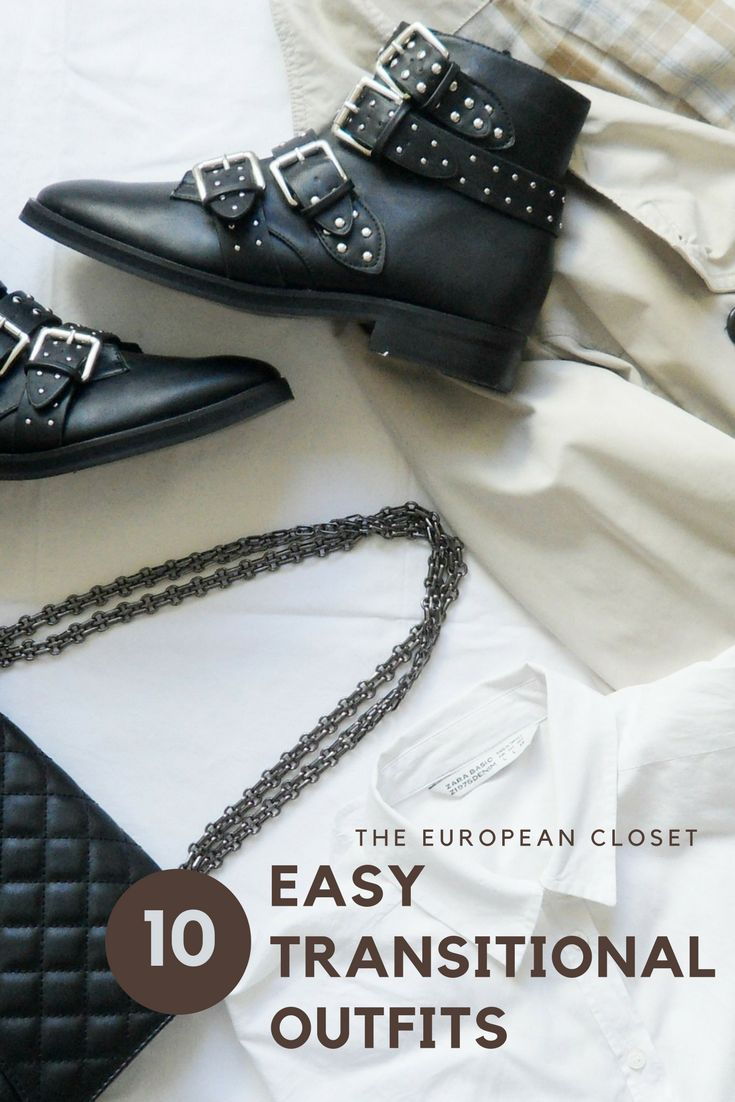 The European Closet- outifts for those bipolar days.