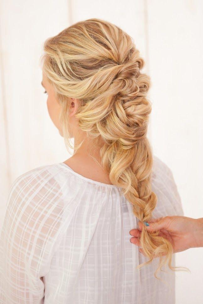 DIY Fancy French Twist Bridal Updo | French twist ...