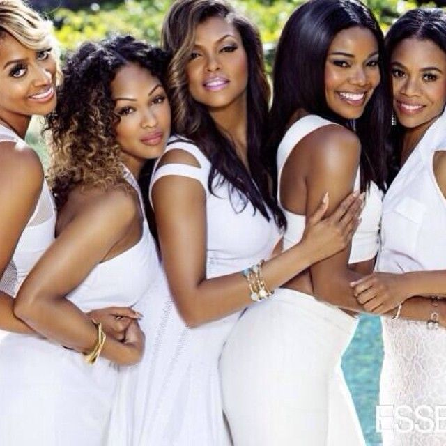 'Think Like a Man Too' leading ladies cover 'Essence' magazine written by Joi Pearson for Rolling Out - Gabrielle Union, La La Anthony, Regina King, Meagan Good, Taraji P. Henson