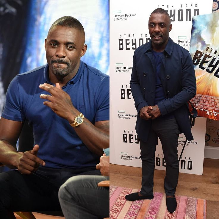 British actor #IdrisElba promotes his role in Star Trek Beyond in New York at Crosby Street Hotel & #GoodMorningAmerica on July 18th.