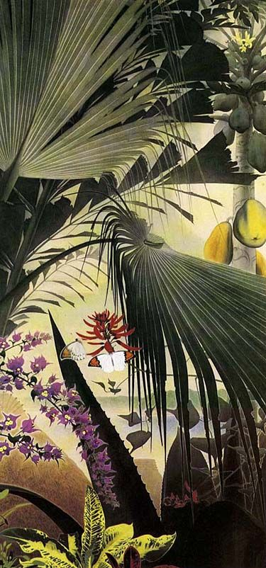 Japanese Art | TANAKA Isson (1908-1977) | (Amamioshima island)
