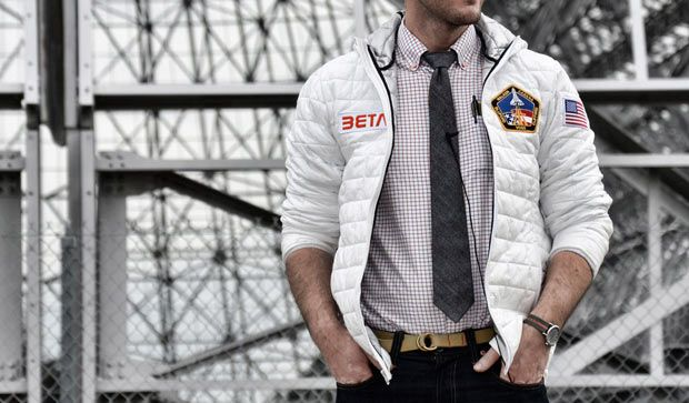 Betabrand lança jaqueta inspirada nos traje espaciais da NASA