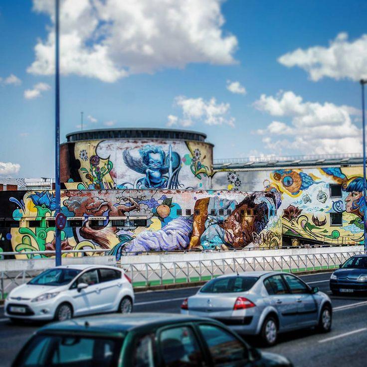 The dreamer #dream #sleep #graffitiart #graffiti #graffitiporn #colors #baby #road #street #urban #sevilla #spain #spring #summer #clouds #afro #black #bride #tag #photo #photooftheday #photography #picoftheday #manumarra #tbt #instatravel #instagood #travel #turism #adventure