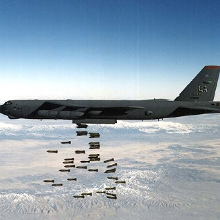 B52 Bomber. Is this taken over a range?