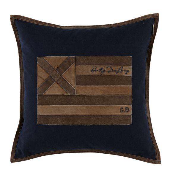 Poszewka US Leather Cross 50x50 CM