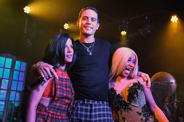 G-Eazy, Halsey, Cardi B performs at at Bud Light's Dive Bar Tour 300817 #GEazy #Halsey #CardiB #BudLightDiveBarTour