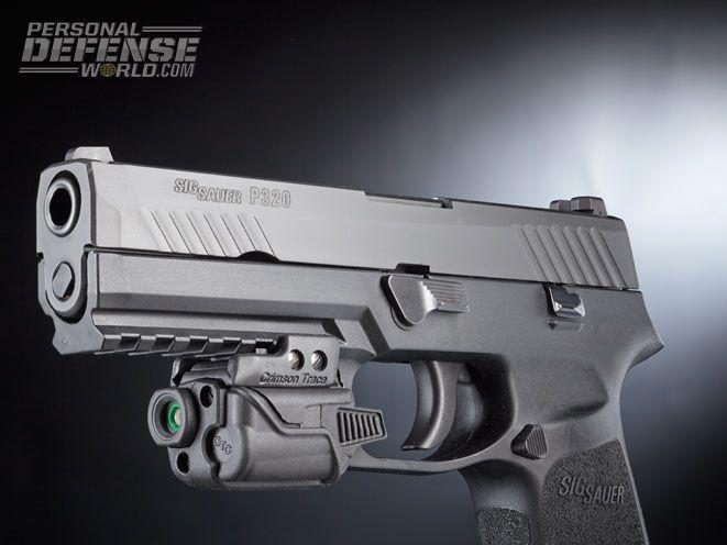 Testing the Striker-Fired Sig Sauer P320 9mm