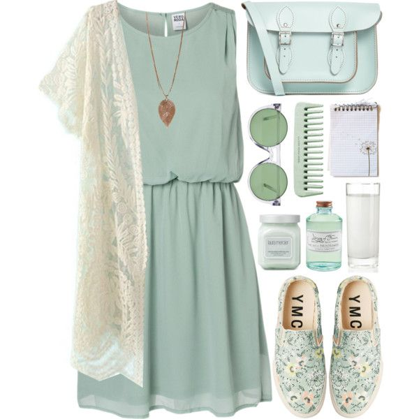 """Pastel mint"" by day-antero on Polyvore"