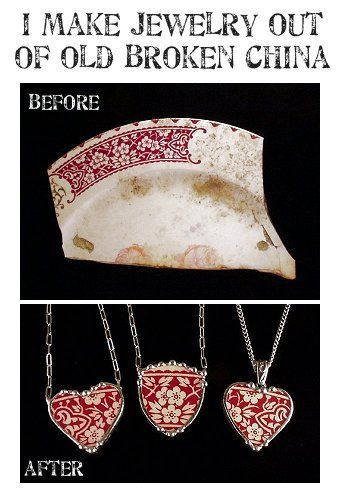 Reuse, Recycle, Repurpose...Give old and broken items a second life!