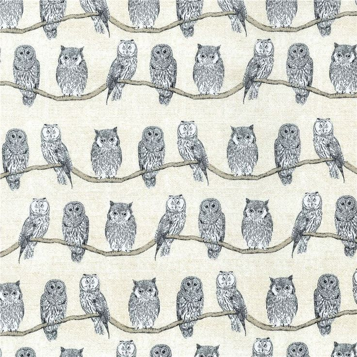 http://www.kawaiifabric.com/en/p11178-beige-Michael-Miller-fabric-many-black-white-owl-bird.html