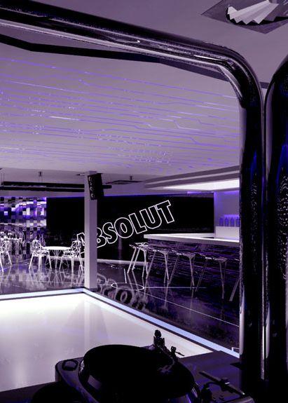 Bar design and music club design in Warsaw POLAND - archi group.  Klub muzyczny w Warszawie.