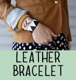 Easy to make leather bracelets!