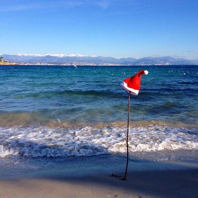 Santa Claus was in Cap d'Antibes