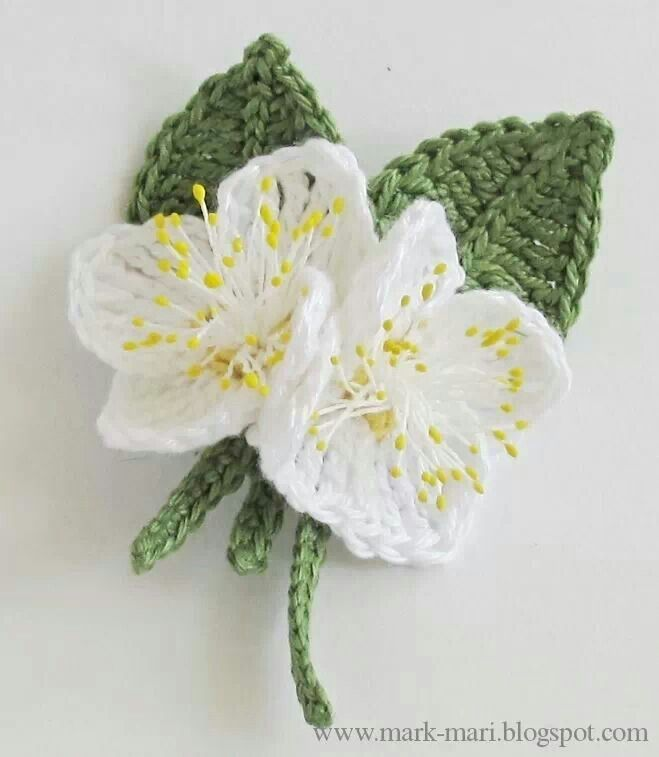 Flores con hojita