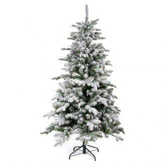 Albero di Natale 180 cm floccato Poly Everest | vendita online su HOLYART