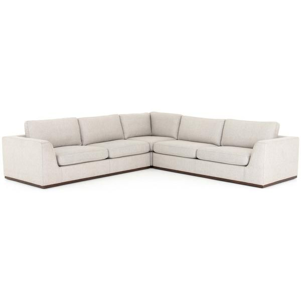 Modern Sectionals High Fashion Home In 2020 Sectional 3 Piece Sectional Modern Sectional