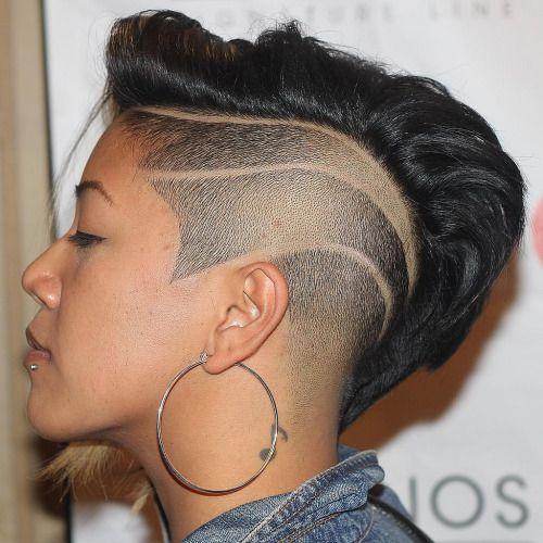 sta shaved hair design iderna