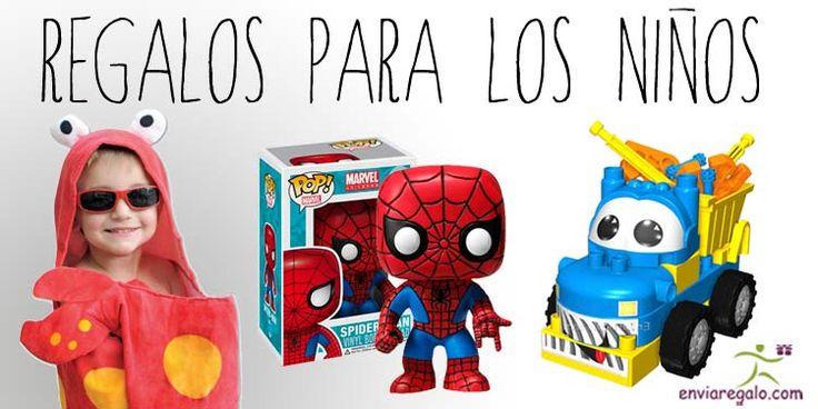 ¿Le gustan los superhéroes, juguetes, accesorios, disfraces, juegos de mesa o relojes? Tenemos el regalo ideal para este #DiadelNiño