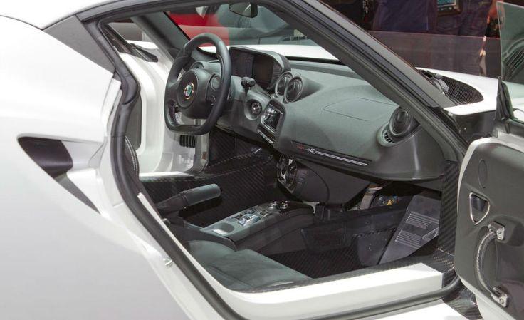 2014 Alfa Romeo 4C Spider Interior