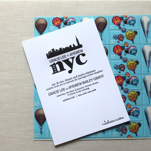 23 Best NYC Theme Invites Images On Pinterest