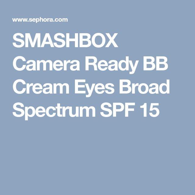 SMASHBOX Camera Ready BB Cream Eyes Broad Spectrum SPF 15
