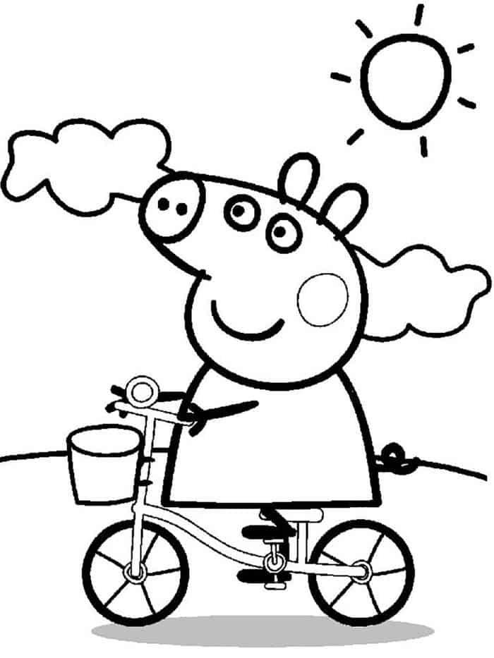 Peppa Pig Mom Coloring Pages Peppa Pig Coloring Pages Peppa Pig Colouring Mom Coloring Pages