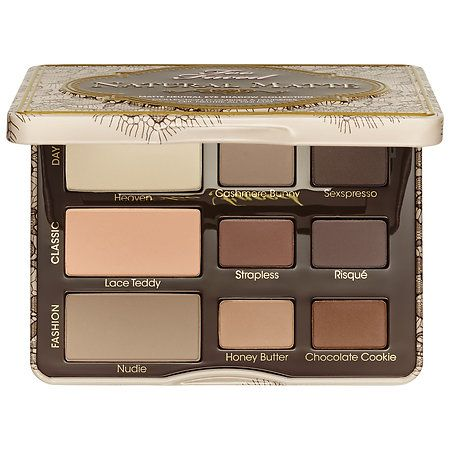 Natural Matte Eye Palette - Too Faced | Sephora  I've heard such good thing swatches beautifully