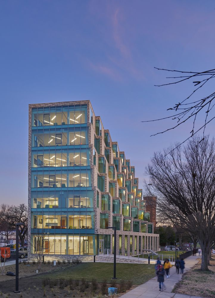 Gallery Of The Aya Housing Studio Twenty Seven Architecture Leo A Daly Jv 11 Facade Architecture Washington Dc