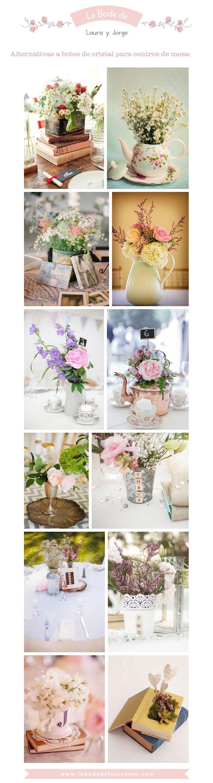 25 best ideas about arreglos florales para mesas on - Mesas de centro de cristal ...